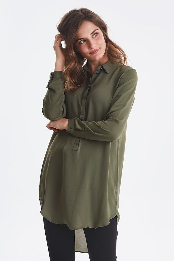 B Young Hese Olive Tunic