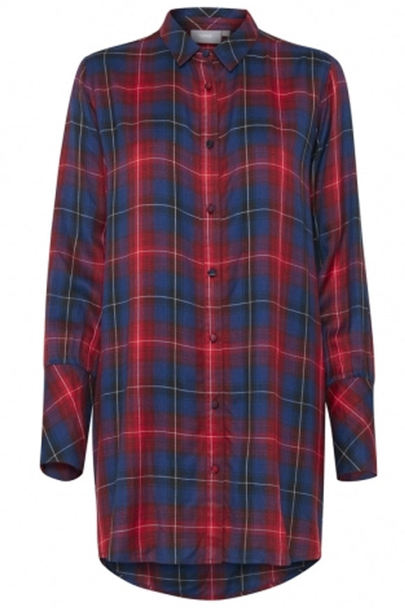 B Young Check Shirt