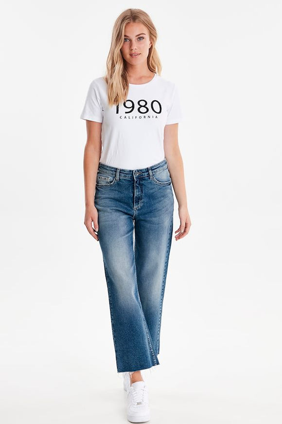 B Young Kato Locca Wide Leg Jeans