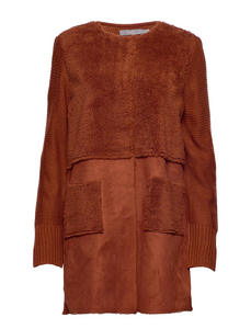 B Young Mariam Cardigan Copper
