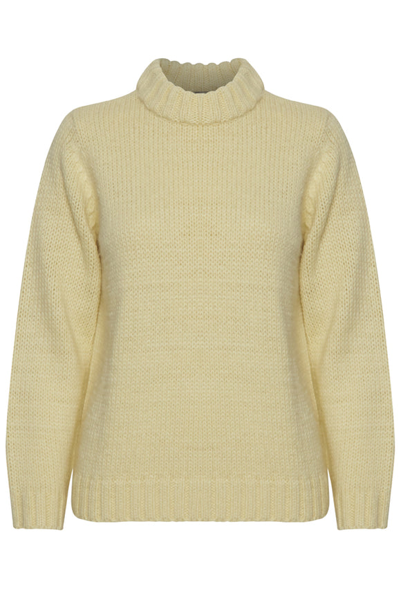 B Young French Vanilla Knitted Sweater