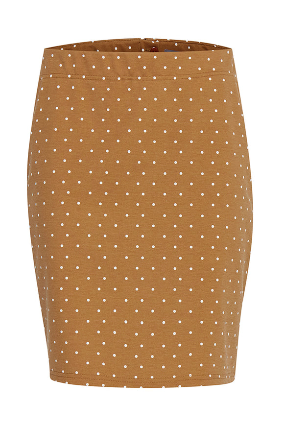 B Young Rizetta Polka Dot Skirt
