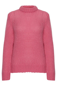 BYoung Wild Orchid Knitted Pullover