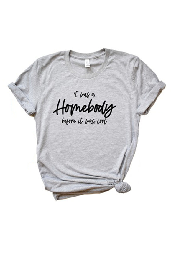 "Bks Collection Graphic Tee – ""Homebody"""