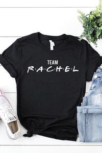 "Bks Collection Graphic Tee – ""Team Rachel"""