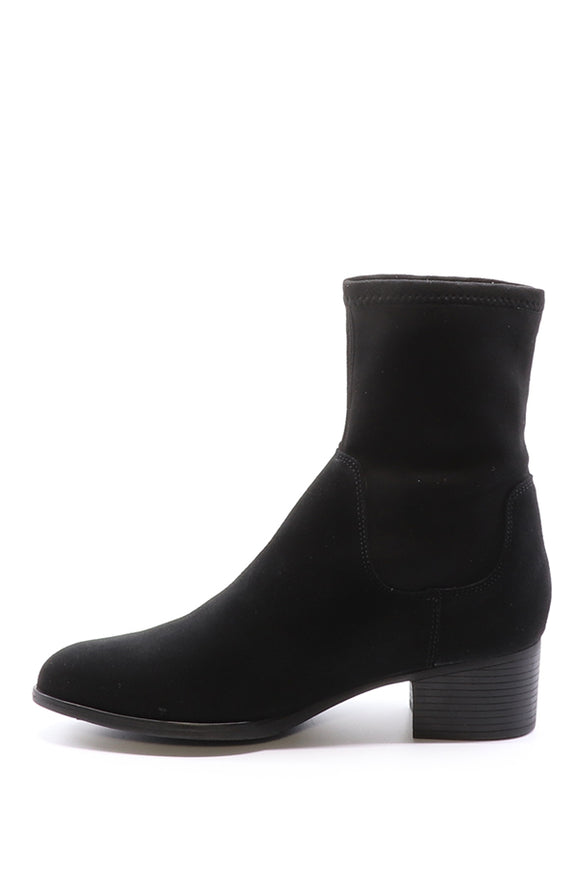 Bos & Co Ream Black Suede Boot