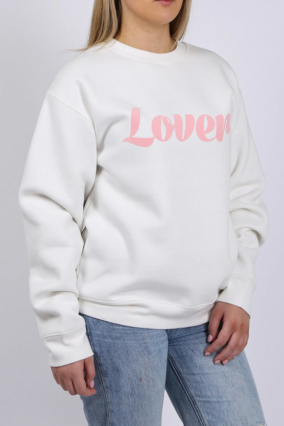 "Brunette The Label ""Lover"" Crewneck"