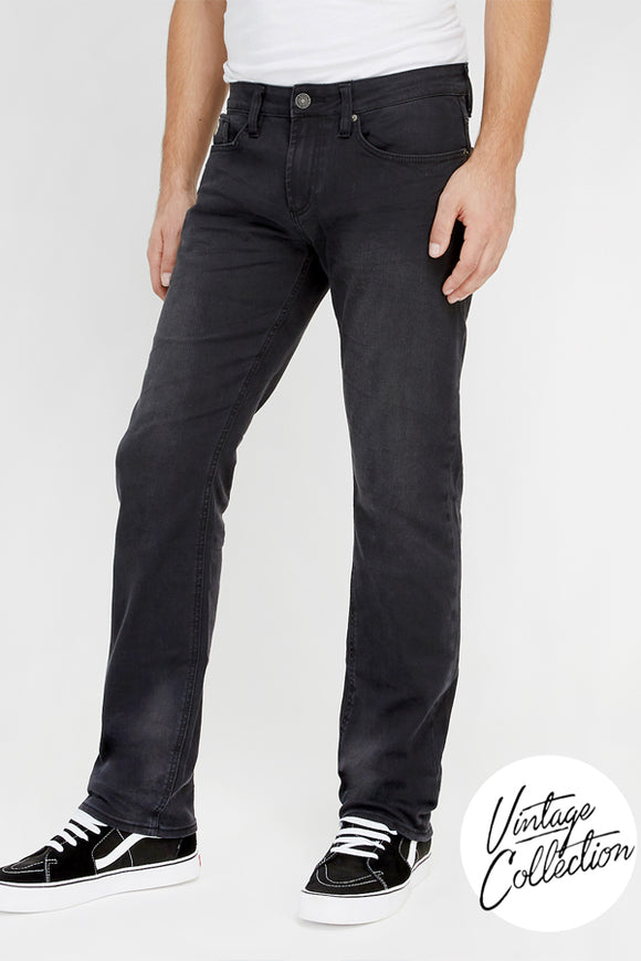 Buffalo Men Evan-X Slim Straight - Black Wash