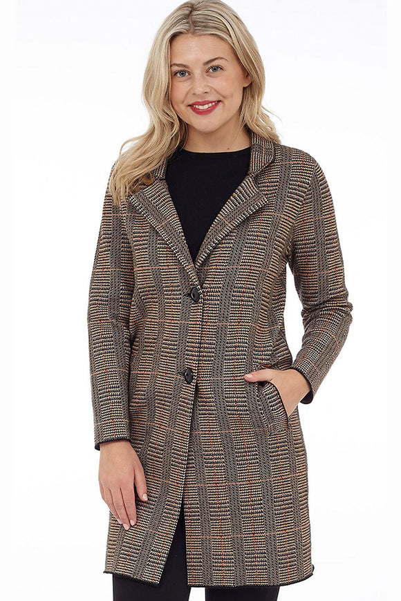 Houndstooth Coat Dkr & Co