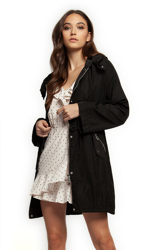 Dex Little Black Rain Coat