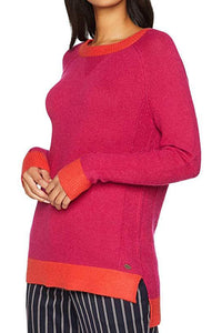 Esprit Fuchsia and Coral Sweater