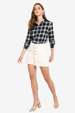 Esprit Smooth Check Blouse