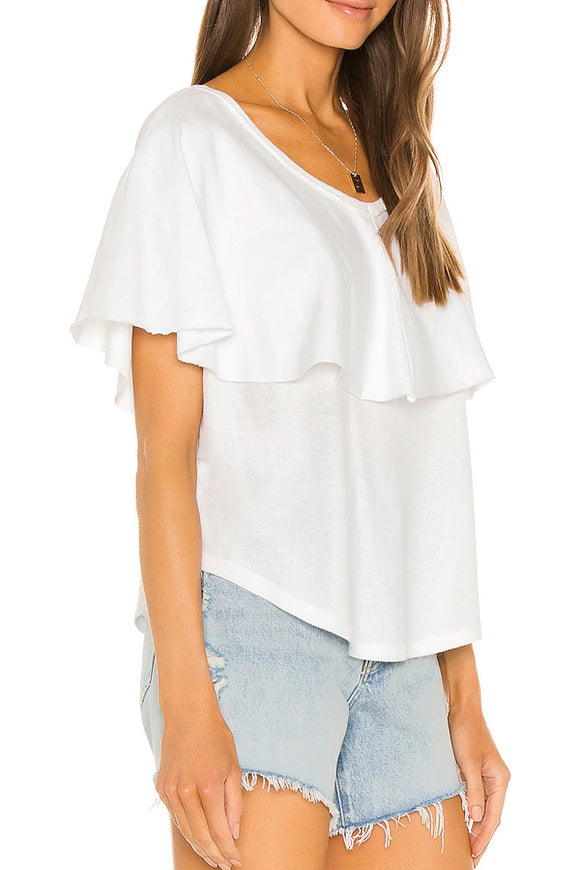 Free People Girl Talk Tee