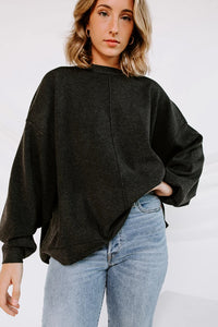 Free People Carbon Copy Pullover Sweater