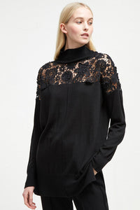 French Connection Nadia Lace Top