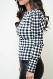 Guess Gingham Top