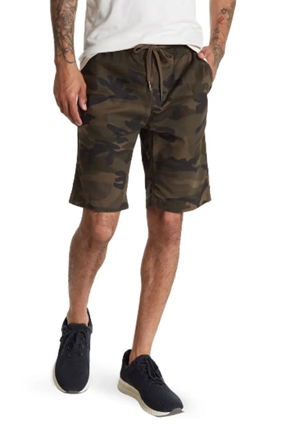 HEDGE Camo Knit Shorts