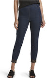 HUE Reversible High Waist Denim Skimmer