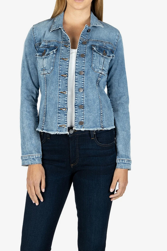 KUT Kara Denim Jacket