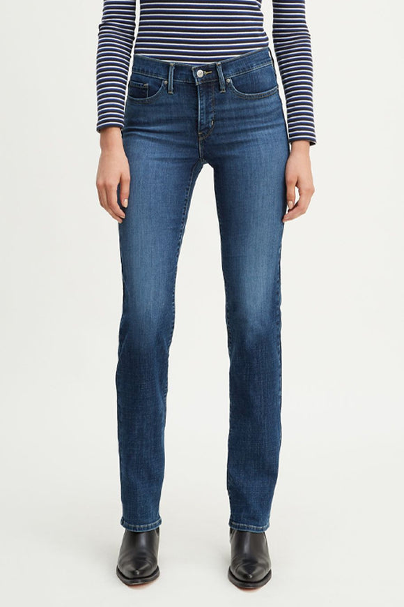Levi's 314 Shaping Straight Jeans Maui Blues