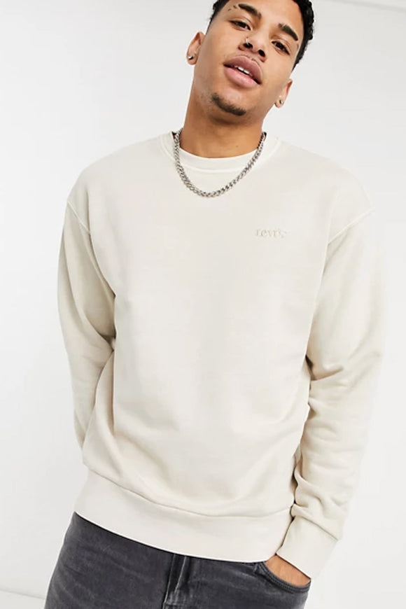 Levi's Relaxed Fit Stone Crewneck