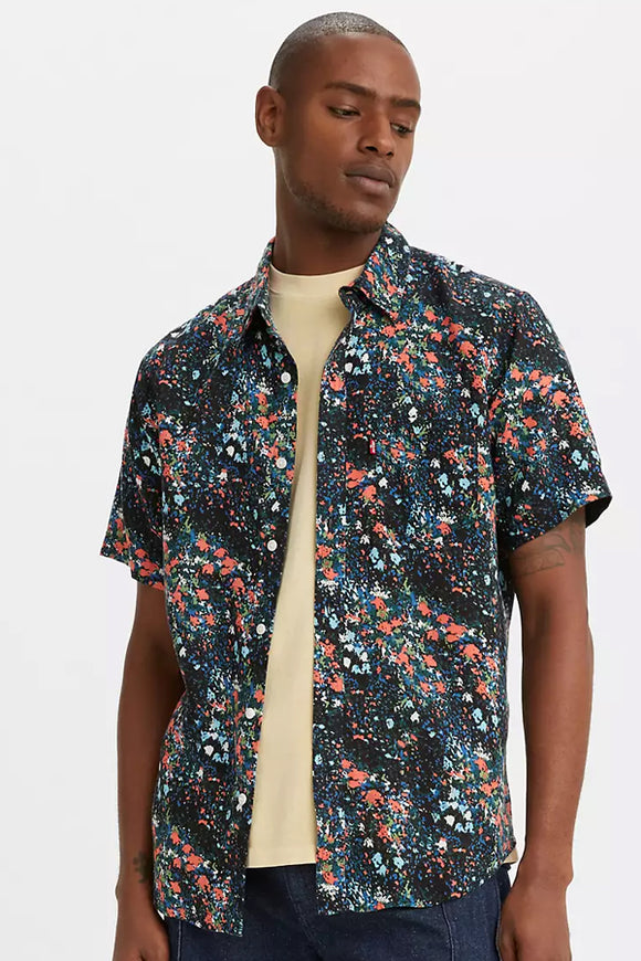 Levi Sunset One Pocket Short Sleeve Shirt