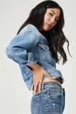 Mavi Rosa Cropped Denim Jacket
