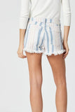 Mavi Rosie Stripe Stretch Short