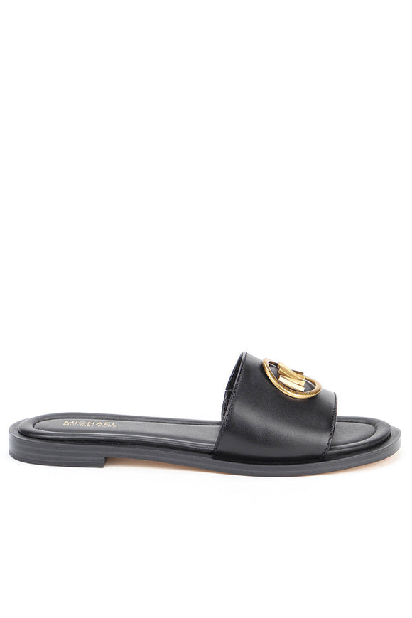 Michael Kors Brynn Leather Slide