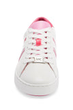 Michael Kors Irving Stripe Lace Up Pink