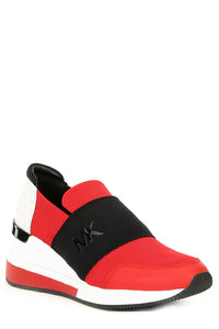 Michael Kors Red Felix Trainer