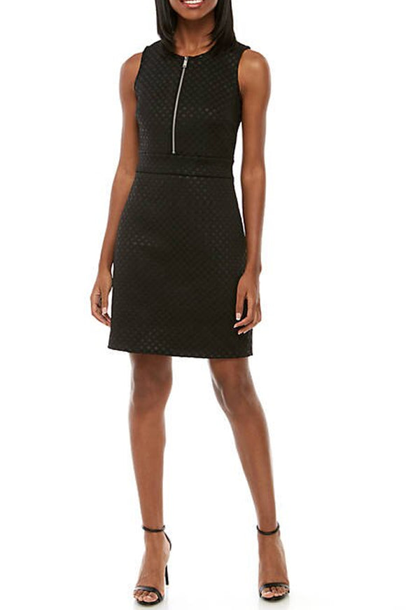 Michael by Michael Kors Embossed A-Line Dress