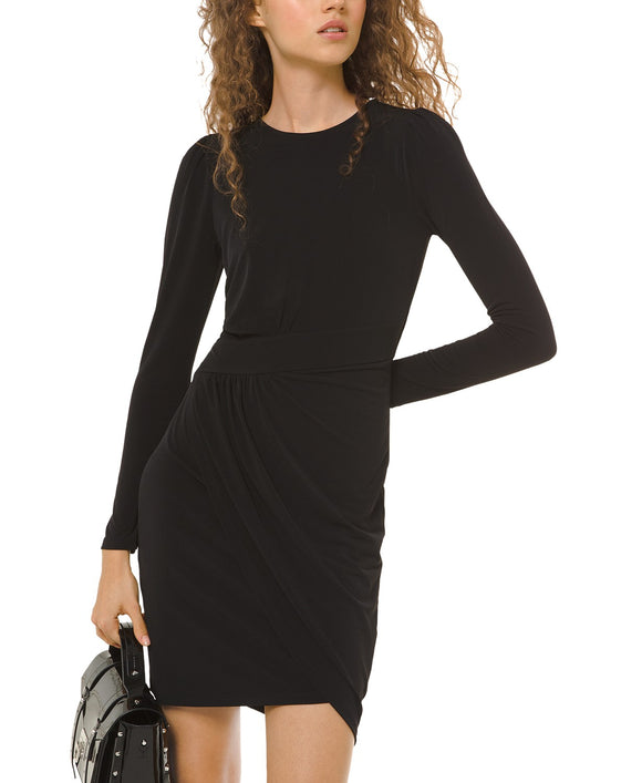 Michael by Michael Kors Ruched Sheath Dress
