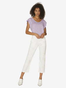 Sanctuary Peace Crop Chino Print Pant (Black, White, Sedona)