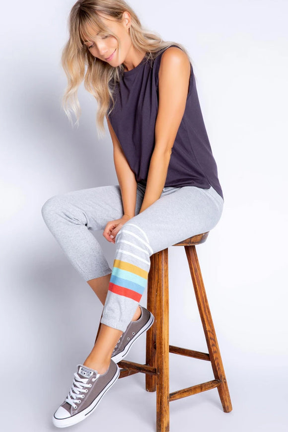 PJ Salvage Retro Stripe Pant