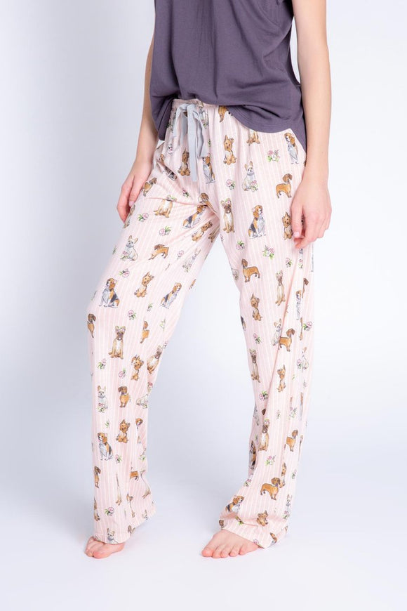 PJ Salvage Playful Print Pant