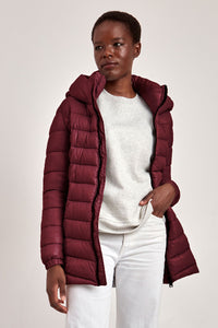 Point Zero Claudia Long Mid-weight Puffer Coat