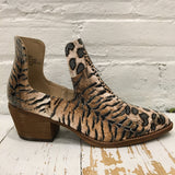 BK Brand Jade Booties (Animal Patches, Grey Suede)