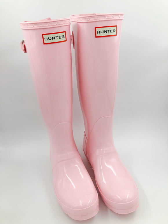 Hunter Original Adjustable Back Gloss Boots