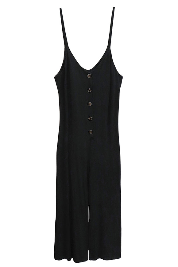 RD Style Button Up Jumpsuit