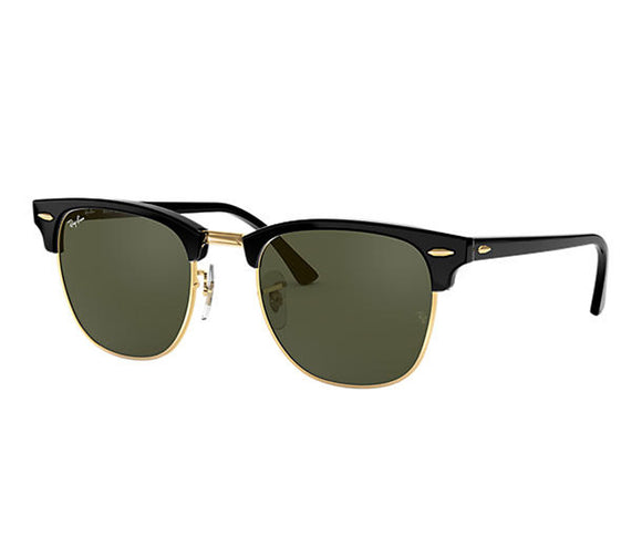 Ray Ban Clubmaster Classic Polished Black