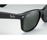 Ray Ban New Wayfarer Gloss Black Small