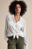 Sanctuary Waverly Boyfriend Blouse