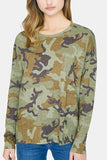 Sanctuary Carlee Camo Long Sleeve Tee