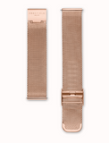Rosefield The Tribeca Black and Rose Gold