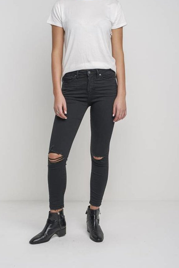 Silver Isbister Black Jeans
