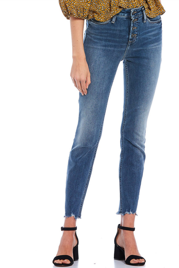 Silver Jeans High Note Skinny Leg High Rise – Button Fly