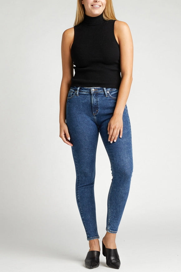 Silver Jeans High Note Skinny Indigo