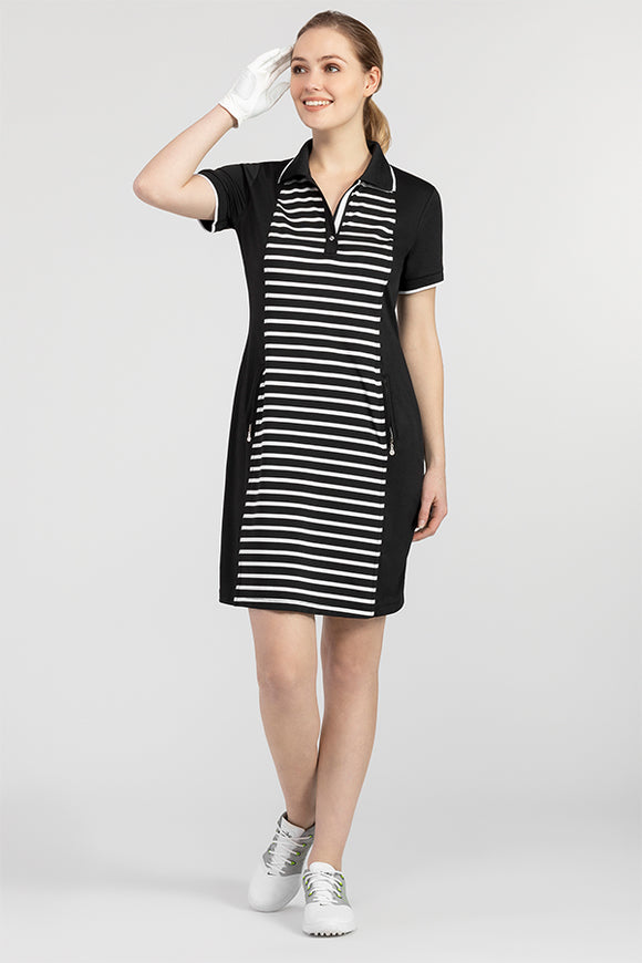 Tribal Stripe Golf Dress
