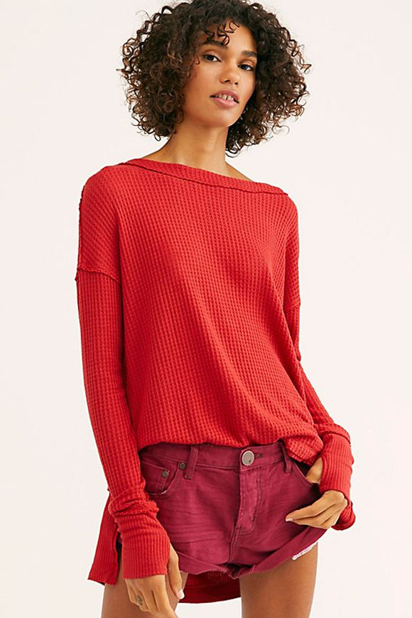 Free People North Shore Thermal (Multiple Colours Available)